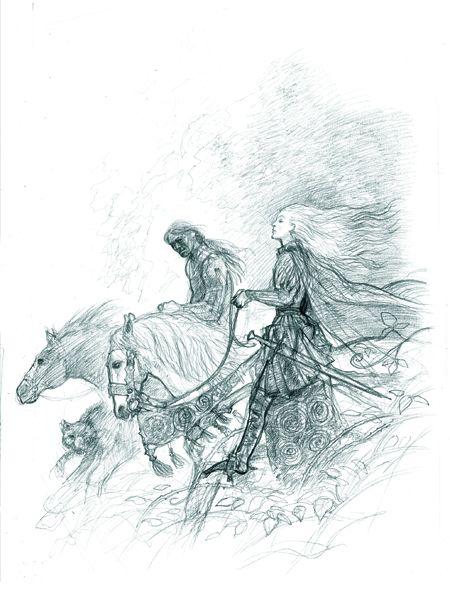 John Howe Drawings John Howe